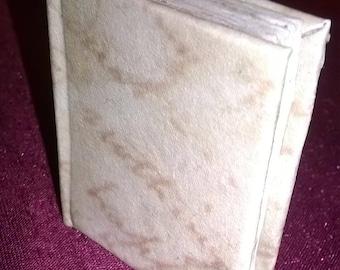 Dollhouse Miniature Book