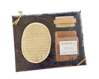Luxury Spa Gift Set - organic soap / gift set for her / womens spa gift set
