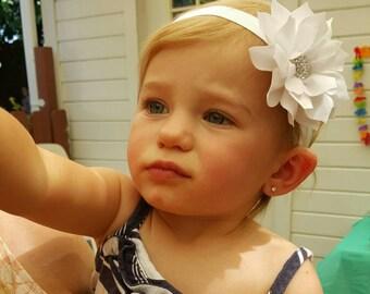 Baby Headbands - Photo Props - Flower Headbands - Fancy Headbands - Newborn Headbands - Baby Shower Gift Idea