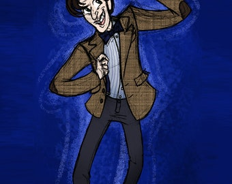 SALE - The Eleventh Doctor Print