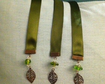 3-Pack Leafy Greens Bookmark