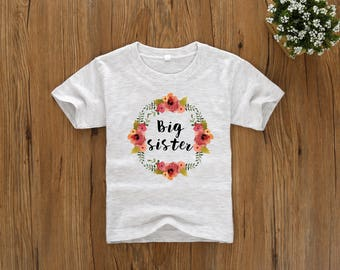 Big Sister Shirt, I'm Going to be a Big Sister, Big Sister Announcement, Big Sister Outfit, Big Sister Gifts, Girls Pregnancy Announcement
