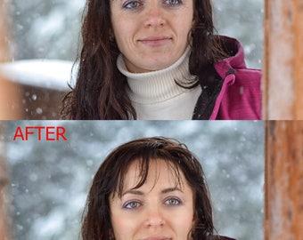 Photo editing, professional photo retouching, face retouch, photo retouching, Photoshop editing service, Custom Photo editing