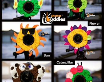 Shutter Buddies SPECIAL 8 for 5  With Squeakers Camera Lens Accessories