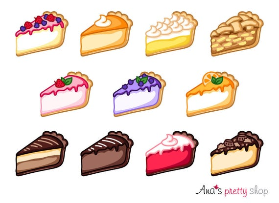 cheesecake clipart pie clipart traditional cheesecake apple rh etsy com clip art pie pictures clip art pie pictures