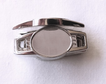 10 pcs Blank Oval Shoelace Paracord Charms 16 x 12mm w/ Epoxy Sticker Survival Bracelets