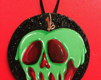 Poison Apple Ornament