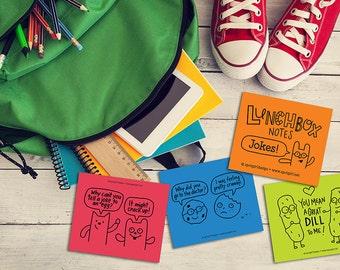 Lunchbox Notes - Jokes (Set of 24)