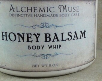 Honey Balsam - Body Whip - Honey Citrus, Toffee, Frankincense, Myrrh