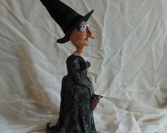 Witch paper mache