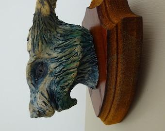 Dragon Ceramic Faux Taxidermy