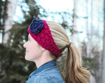 Crochet Pattern - Elisabeth Headwrap (Baby to Adult Sizes)