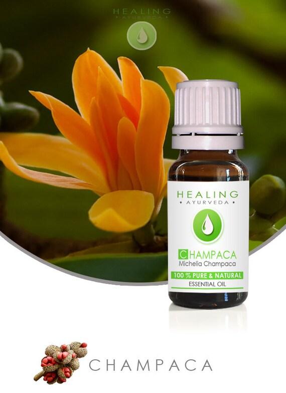 Champaca oil - Pure esssential oil Champak- Natural champaca- Pure Champaca oil- Champaka- Natural fragrance DIY perfume bath & beauty oil