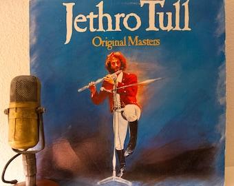 """Jethro Tull Album 1970s Classic Rock Best Of Compilation """"Original Masters"""""""