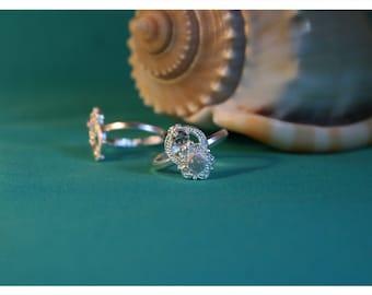 Noemi, size-adjustable toe ring