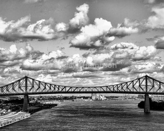 Jacques Cartier Bridge II - Montréal - Fine Art Print - Photograph - Wall Art - Decor
