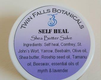 Self Heal - Shea Butter Herbal Healing Salve | All Purpose Healing Salve