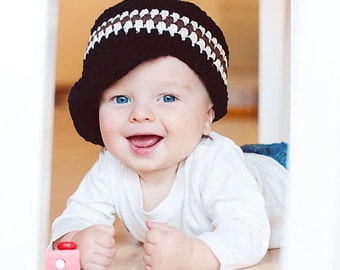 Baby Boy Hat 30 Colors 9 to 12 Month Custom Baby Hat Baby Boy Clothes Baby Boy Cap Baby Cap Visor Beanie Visor Hat Crochet Hat Knit Beanie