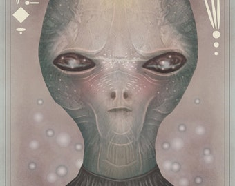 The Grey VII - A4 art print