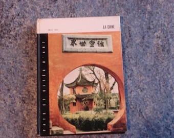 book about China with black and white photos and colors of 1967