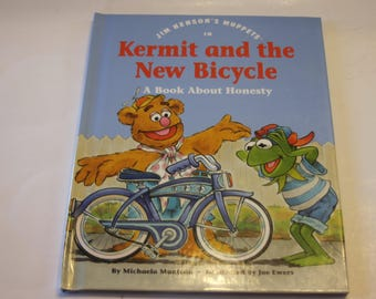 "Jim Henson's Muppets in ""Kermit and the New Bicycle"" A Book About Honesty (1992)"