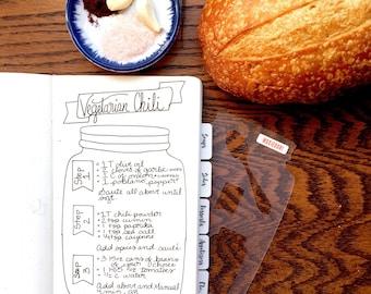 Food doodle clipart recipe book bullet journal stencil for mason jar recipe book bullet journal stencil for travelers notebook leuchtturm moleskine a5 planner forumfinder Gallery