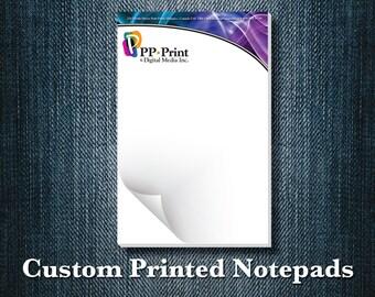 Custom Printed Notepads (set of 5)
