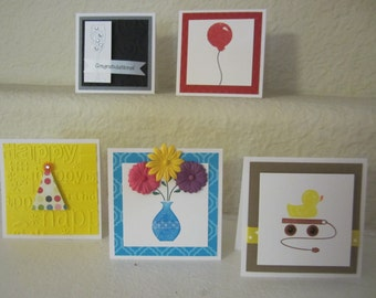 Gift Enclosure Cards Set of 5 Multiple Occasions
