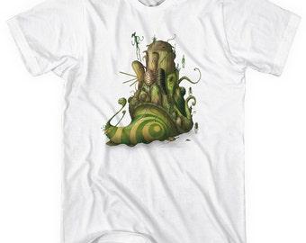 Schneckenhaus T-shirt - Men and Unisex - XS S M L XL 2x 3x 4x - Snails Shirt - 1 Color