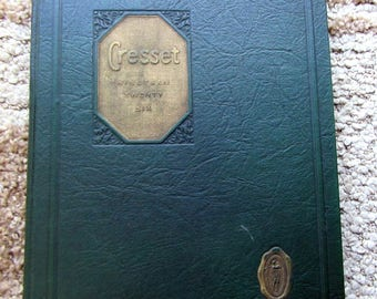 1926 Yearbook Cresset from Chillicothe High School, Chillicothe, Missouri