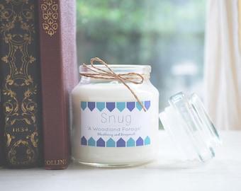 A Woodland Forage Soy Wax Candle