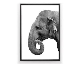 Elephant Print, Nursery Wall Art, Woodland Nursery Decor, Nursery Animal Wall Art, Elephant Print Wall Art, Elephant Art, Nursery Art Print