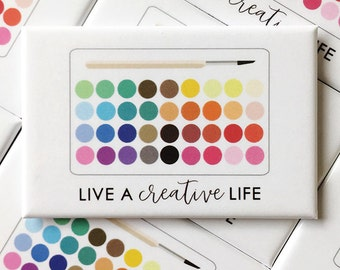 Live a Creative Life Magnet