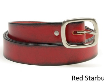 1 1/4 inch Bridle Leather Belts
