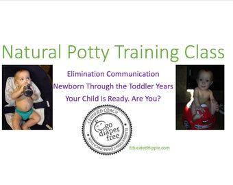 Elimination Communication/ Natural Potty Training Class