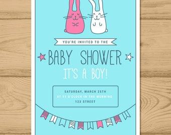 Baby Shower Invitation, Beatiful Baby Shower Invitation OFFER!