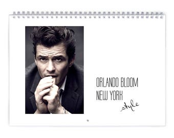 Orlando Bloom Vol.1 - 2018 Calendar