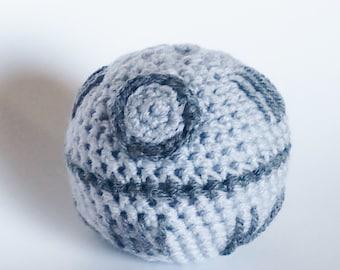 Amigurumi Crochet Death Star