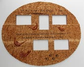 WOOD WALL ART Wood Frame ...