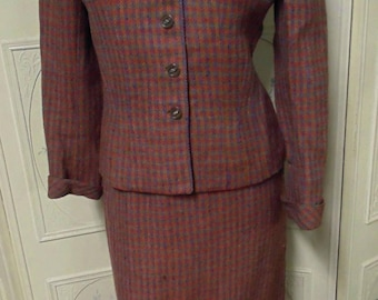Vintage 2-piece Wool Suit by Best & Co. By Barney, Fifth Ave New York