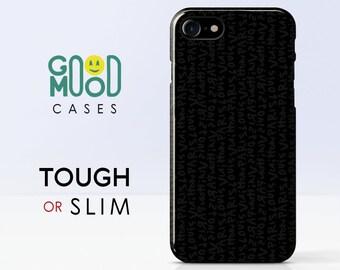 Just Black iPhone case iPhone X case iPhone 8 Plus case iPhone 7 case iPhone 6s Plus case iPhone 8 case iPhone 7 Plus case iPhone 6s case