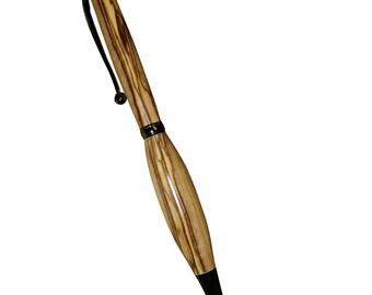 Bethlehem Olive Wood Pen, Gold hardware, Handmade Pen, Pens Hand Turned, Pens Handmade, Pens Gifts, Gifts for Writers, Ballpoint, Large