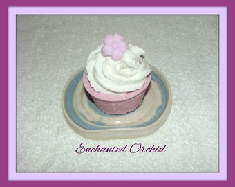 Enchanted Orchid Bath Fizzy, Floral Bath Bomb, Fizzy Cupcake, Floral Cupcake, Bubble Bar, Orchid Bath Bomb, Apple Bath Bomb