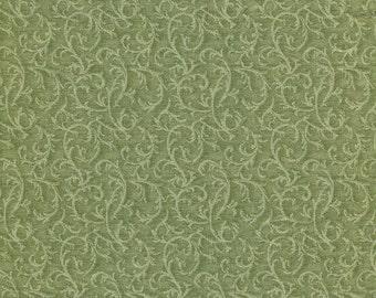 Light Olive Vines - Classic Cottons - Half Yard