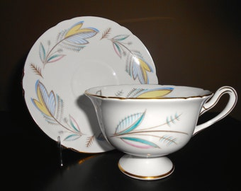 Shelley China Caprice Cup and Saucer