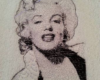 Bathroom Hand towels Lucille Ball or Marilyn Monroe