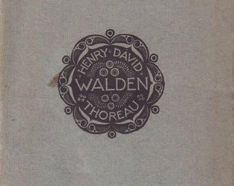 THOREAU, Henry David. Walden.
