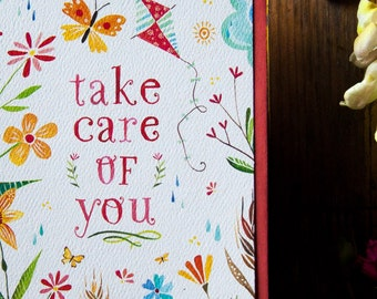 Take Care Of You - Greeting Card