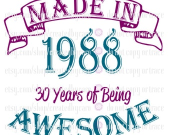 Made In 1988 digital file