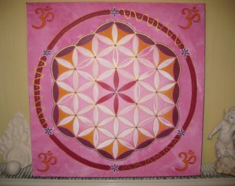 Flower of Life Mandala Energy of the Fairies